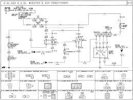 1991 mazda b2600i wiring diagram ac heat air conditioning fan