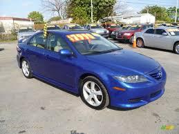 2004 mazda mazda6 i sport sedan in lapis blue metallic n80337