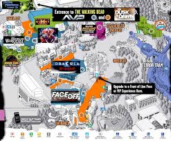 universal studios orlando map 2015 maze line ups now announced for more top