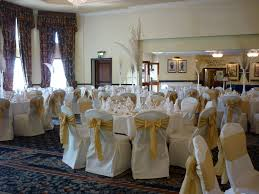 gold chair sashes chair covers and sashes to hire perfectly you events