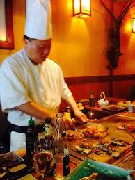 restaurant japonais cuisine devant vous chef japonais photo de kokohana tripadvisor
