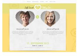 wedding slide responsive wedding invite by accurathemes