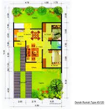 desain rumah lebar 6 meter desain rumah mungil type 45 pt architectaria media cipta