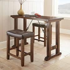three piece table set liza 3 piece counter height pub table set