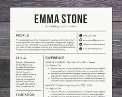 creative resume templates for mac professional resume templates resume bundle cv creative modern