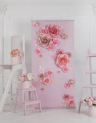 photo backdrop paper paper flower backdrop paper flower wall paper by miogallery girl