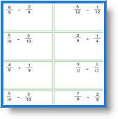subtracting fractions 3rd grade math lesson plans third grade math