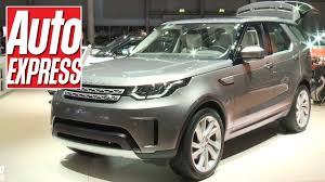 first land rover new land rover discovery at paris 2016 first look at new british