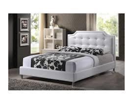 Leather Headboard Platform Bed Beautiful Leather Headboard Queen White Queen Platform Bed Leather