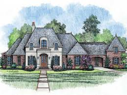 elegant country french house plans one story awesome english