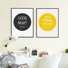 aliexpress com buy modern minimalist motivational life quote a4