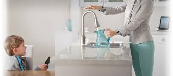 Moen Touch Kitchen Faucet by General Plumbing Supply Inc