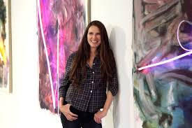 Fashion Universities In Los Angeles Artist Talk Mary Weatherford Aspen Art Museum