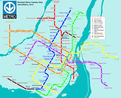 Dc Metro Silver Line Map by Montreal Canada Fantasy Metro Rail System Map By Johnqmetro