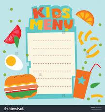 menu template menu template