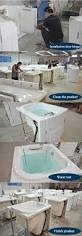 hs b1305t soaking tub with seat walk in bath elderly bathtub