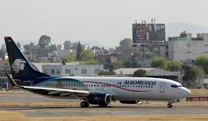 Press Advertising Aeromexico Multi Format Aeromexico Plane Nearly Lands On Occupied Runway In Near