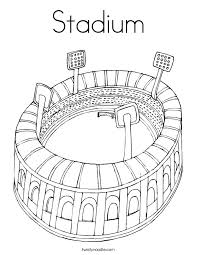 stadium coloring twisty noodle