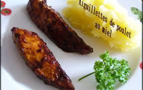 cuisiner des aiguillettes de poulet recette aiguillettes de poulet au miel rapide 750g