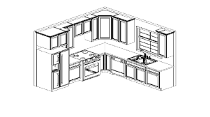 collection small kitchen layout plans photos free home designs