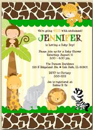 safari theme baby shower invitations tags safari baby shower