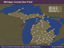 us dewpoint map michigan dew point map air sports