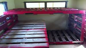 Pallet Bunk Beds Pallet Bunk Beds