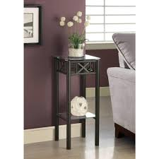 Tiny Accent Table by Unfinished Wood Accent Tables Living Room Furniture The Home