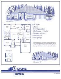floor plan for homes with elegant floor plans for adams homes adam
