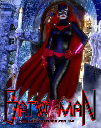 bat woman halloween costume batwoman costume for v4 by terrymcg on deviantart
