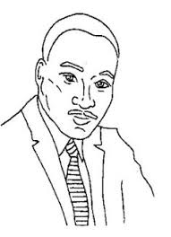 martin luther king face coloring page action man coloring page