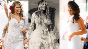 gorgeous wedding dresses 14 most gorgeous wedding dresses of 2016 entertainment tonight