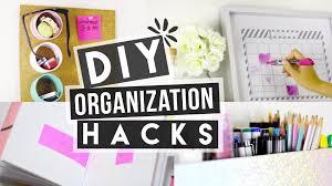Organizatoin Hacks Diy Back To Organization Hacks Youtube