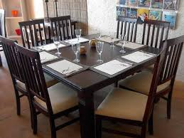 Square Wood Dining Tables The Different Types Of Dining Table Shapes Which You Can Choose