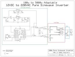 12vdc to 220vac converter circuit diagram wiring diagram simonand