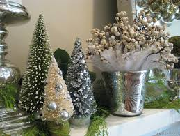 White Christmas Mantel Decorations by Our Elegant And Even Glamorous Christmas Mantel Simplified Bee