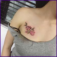 small chest tattoos for females