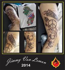 tattoo artist jimmy von lemon strikes again