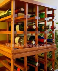 mix and match our stackable wine racks in your choice of finish