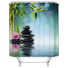 Bamboo Print Shower Curtain Bamboo Shower Curtain Bamboo Shower Curtain Overview
