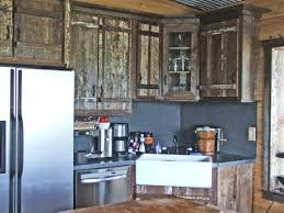 Barn Board Kitchen Cabinets How To Make Barn Wood Cabinet Doors Best Cabinet Decoration