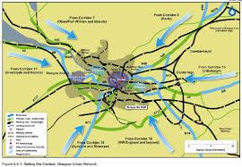 Map Of Glasgow Scotland Transport Scotland