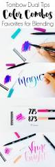 best 25 brush tip markers ideas on pinterest calligraphy