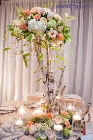 Tall Table Centerpieces by Best 25 Tree Centerpieces Ideas On Pinterest Manzanita