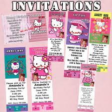 personalized hello kitty invitations vertabox com