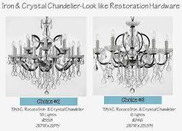 Chandelier Hardware The Great Chandelier Debate House Of Hargrove
