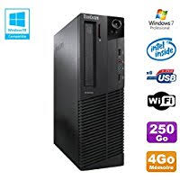 pc de bureau lenovo amazon fr lenovo ordinateurs de bureau informatique