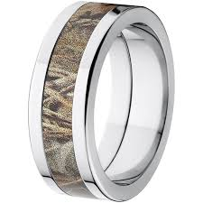 camo mens wedding bands realtree max 4 men s camo 8mm stainless steel wedding band