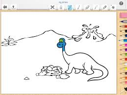pictus dinosaur kids coloring book for all ages review of ipad