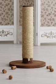 modern cat furniture cat scratching post round pole cat scratcher modern cat